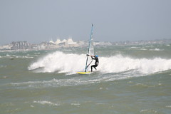IMG_8293 (Viv Carline) Tags: uk west sussex jumping waves force sails july 8 wave windy surfing gale riding windsurfing 15th jumps bognor regis raf 2010 pagham