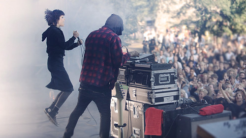 Crystal Castles - Oslo Live Festival 2010
