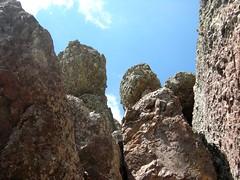 Paglia Orba par Foggiale : 1ère cheminée de Foggiale depuis le bas