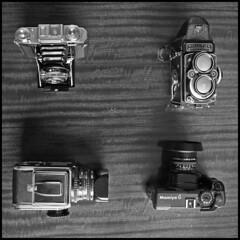It's hip to be square (*monz*) Tags: wood bw 6 slr classic 120 6x6 mamiya tlr film rolleiflex zeiss 35mm mediumformat square t 50mm grain prism rangefinder super symmetry hasselblad cameras reservoirdogs mf manual 500 mamiya6 ikonta ikon folder planar schneider standoff 80mm 500cm rollfilm porro cs3 foldingcamera hassy bx tessar mexicanstandoff 28f xenotar compur wlf monz 120rollfilm f14l allmanual 53316 waistlevelfinder mooncamera 5dmk2