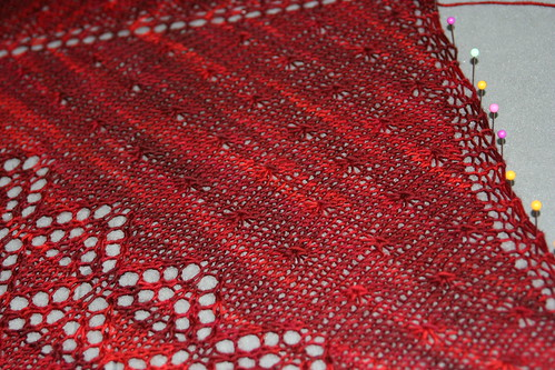strawberry shawl