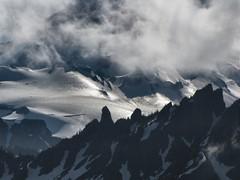 One of Tahoma's Glaciers in Light (Pictoscribe) Tags: mt july rainier glaciers 12 2010 telescopic pictoscribe