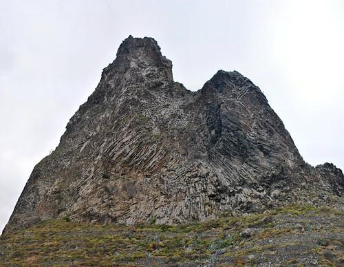 Curiosa formación de la roca