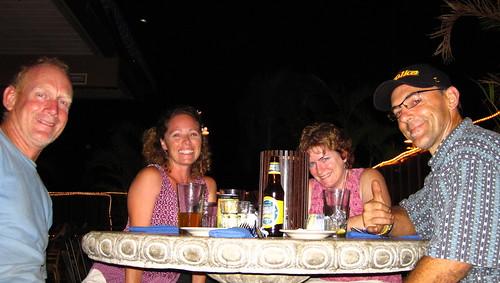 Dinner with Deanna and Tim Maui