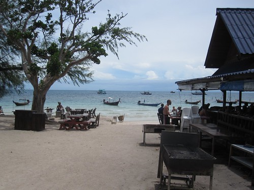 Koh Tao beach bar