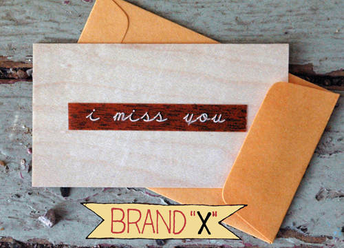 """I Miss You"" Brand X"