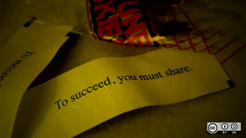 Fortune cookie says: To succeed, you mus by opensourceway, on Flickr