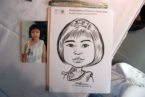 Caricature live sketching for Performance Premium Selection BMW - Day 4 - 6
