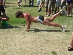 Pushup Guy (shiftynj) Tags: california sandiego balboapark sandiegoca pridefestival sandiegopride sandiegopride2010