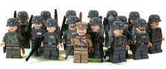 Wehrmacht (*Nobodycares*) Tags: lego nazis wwii worldwarii ww2 guns powers axis worldwar2 germans miltary wehrmacht uas sheaths brickarms brickforge mmcb