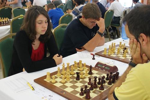 Carole Forestier (FRA) vs Sergi Diaz (ESP)