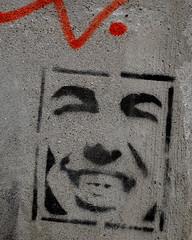 smiley III (Sally E J Hunter) Tags: toronto graffiti stencil riverdale moo1 smileystencil