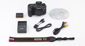 Accessories Included With The Canon 7D