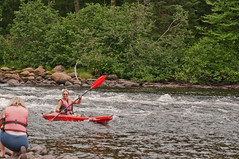 Rivire de la Jacques Cartier (MichelGurin) Tags: canada nikon eau qubec canot rapide orignal kayac parcdelajacquescartier sigma70200mmmacro nikond90