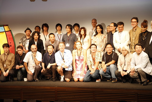Group photo of Skip City D-cinema Film Fest 2010