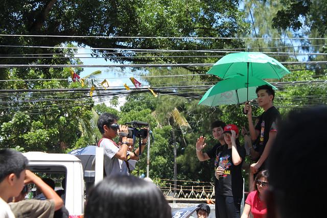 Matt Evans, Pintado Festival, Tacloban