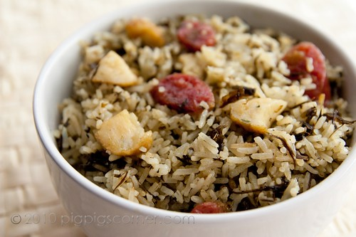 One Pot Rice with Olive Vegetable 2