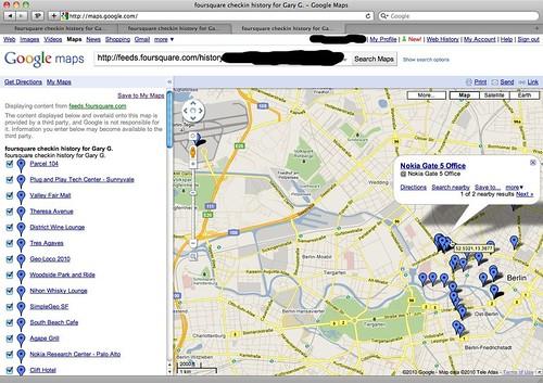 Foursquare History - Berlin
