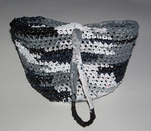 Winter Camo Plarn Bag