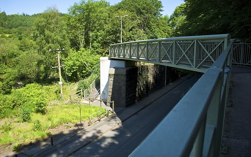 New Bridge Along Cardiff Railway Route