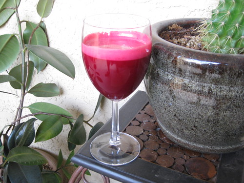apple beet ginger juice