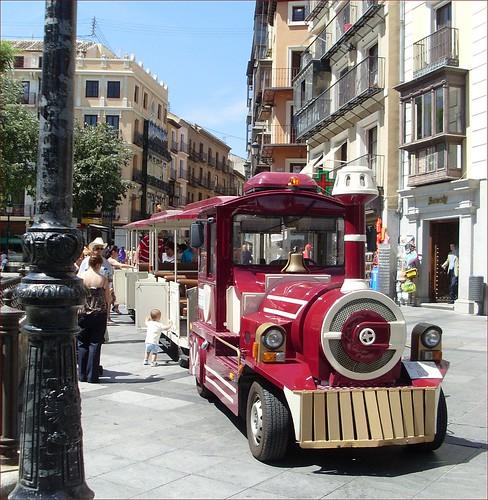 Zocotren, tren turístico de Toledo
