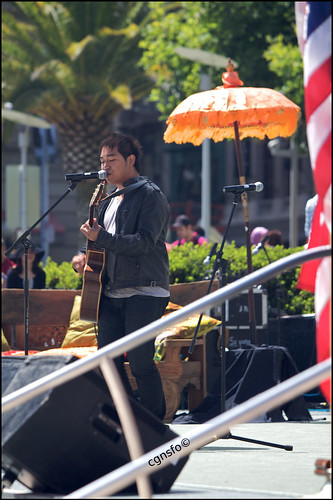 Indonesia Day, Union Square, Pop band lead singer