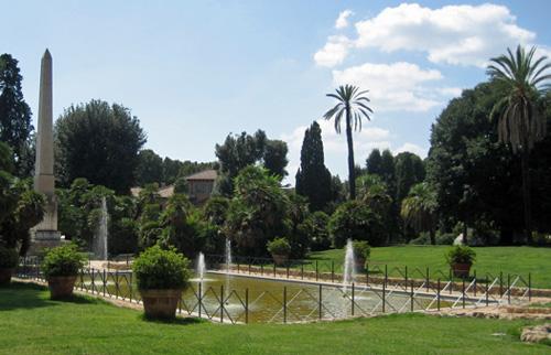 Parque de la Villa Torlonia