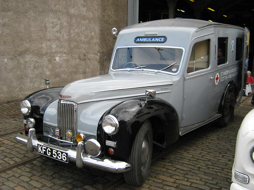 MARCH 1952 HUMBER PULLMAN AMBULANCE KFG536