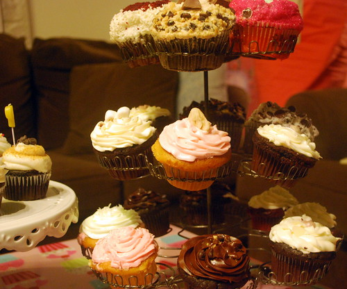 Stuffed Cupcakes and Crumbs Cupcakes