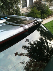 GTI roof details (blitzcat) Tags: black rally stripe vinyl wv gti 2007 unitedgrey calendered