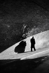 dick tracy (director's cut) (Stu Meech) Tags: birthday street light shadow film station underpass happy photography nikon bath noir candid dick pass tunnel somerset tracy spa 1870mm d300s