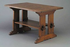 Trestle table (The-Voice) Tags: stickley artsandcraftsera historyofadvertising