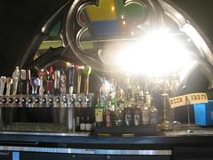 Villains Tavern's outdoor bar by Caroline on Crack