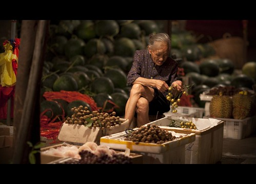 Guizhou Market - Granny Wei II