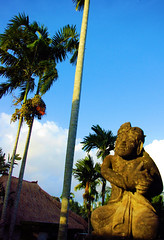 Pertiwi Statue (cwgoodroe) Tags: new old school summer bali sun stone kids children indonesia rice statues agriculture mountians patties riceterraces ubud seminyak batubulan