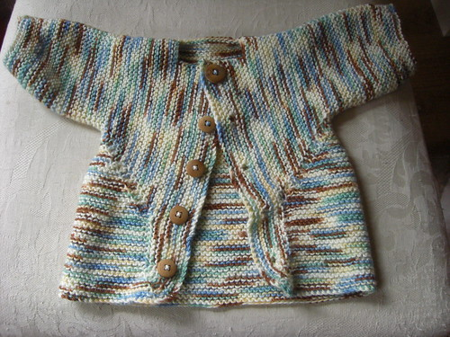 baby surprise sweater - front