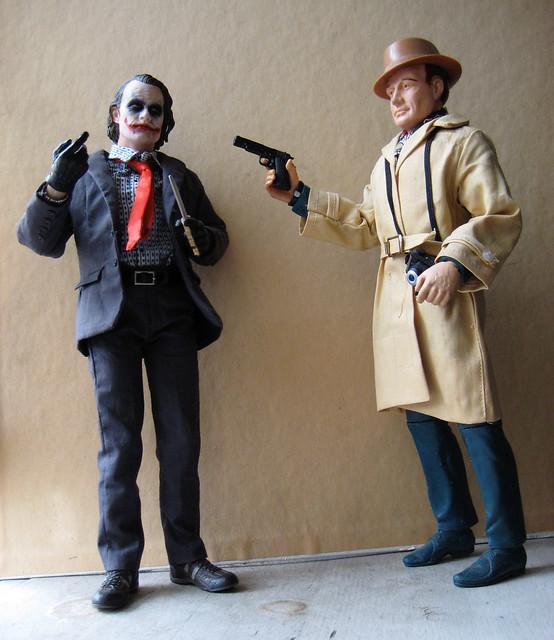 Joker vs Mike Hazard 9484 by Brechtbug