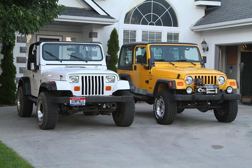 1995 jeep wrangler yj. Jeep Wrangler TJ vs YJ Comparo