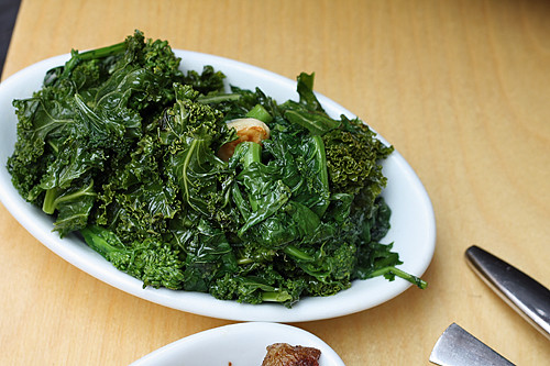 greens at porchetta