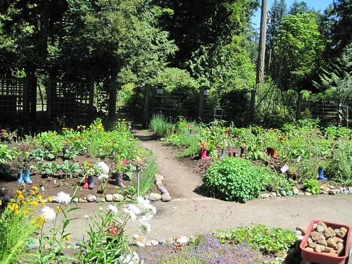 Milner Gardens at Qualicum Beach