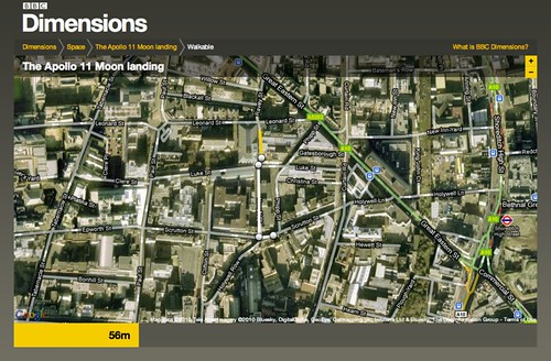 BBC - Dimensions - Creating a walkable route of the Apollo 11 Moonwalks