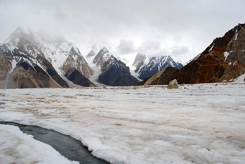 Vigne Glacier and gasherbrum