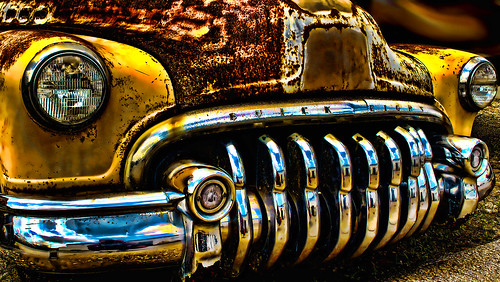 HUNGRY MEAN OLD BUICK