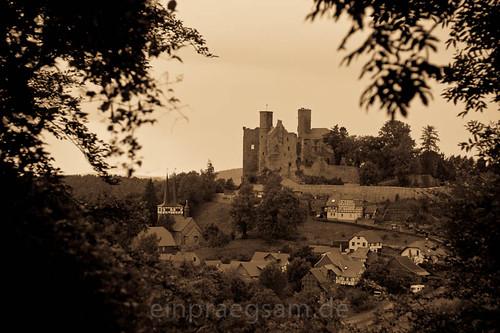 Burg Hanstein im Eichsfeld - mittelalterlich