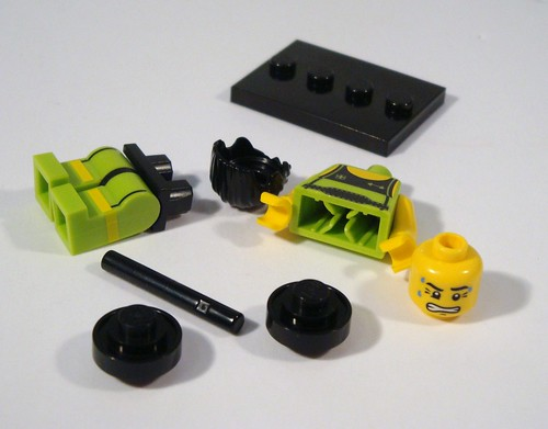 LEGO Collectable Minifigs Series 2 - Weightlifter