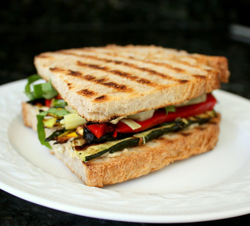 Grilled Summer Squash Sandwich