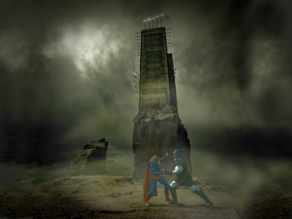 Supes vs Darkseid
