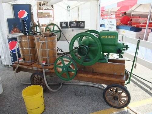 John Deere Ice Cream Churn