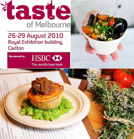 Taste of Melbourne 2010
